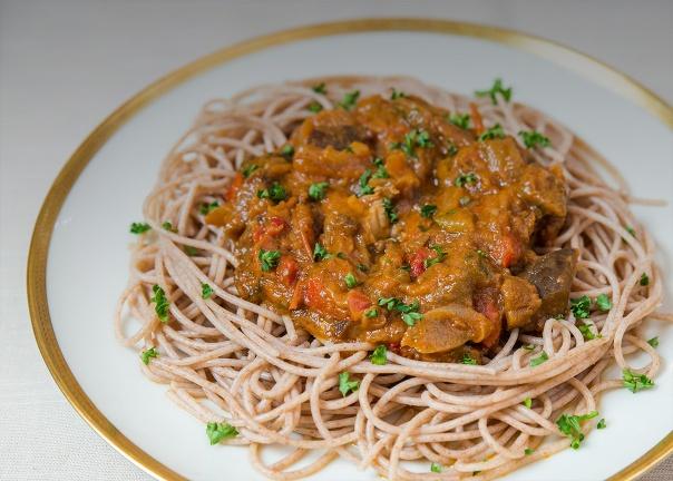 spaghetti au grand épeautre